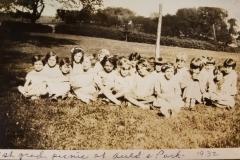 1932 1st grade picnic at Aulds Park