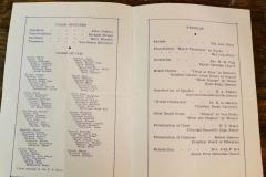 1943 Graduation Program