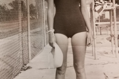 Marie Johnson  -1941 Lifegard at KXVL Swimming Pool