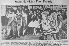Sadie Hawkins Day PARADE