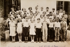 5th Grade East Ward in 1935