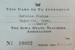 Bernice Phelps Expires 1920