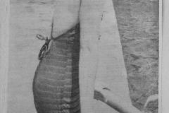 Betty Hart - 1940 Swimming Pool