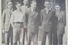 Clarence Kading-Howard Cooley-Paul Grundman-Jack Heer-David Cornell-Jack Tracy