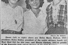 Helen Hudson- Helen Brobst -Marita Gholson