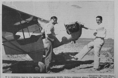 Hollis Bybee and Cyril Hoffman  - NEW Air Plane