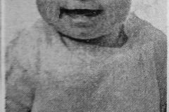 Hulene Jane Fraizier - Age 10 Months