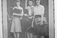 Jeanne Patten Rita Wagner and Shirley Harvison