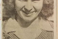 Margery Wilbur - 1943