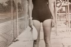 Marie Johnson  -1941 Lifegard at KXVL Swimming Pool