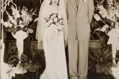Marie Johnson and Gene L Getts - June 1949 -2