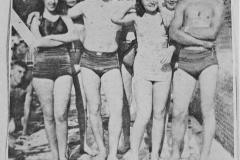 Patty DeMoss-Joe May-Aline Speed-Don Teter Swimming Pool