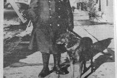 Police Cronkhite and Police dog Pal