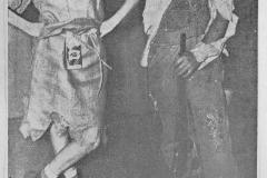 Sadie Hawkins Day Winners - Rita Wagner and Merle Bailey